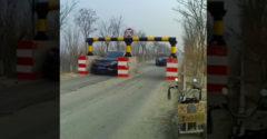 A veszélyes lassító kapu próbára teszi a te élettartamodat is. (Made in China)