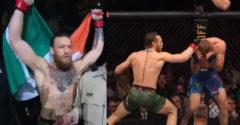 Conor McGregor megsemmisítő erővel tért vissza az UFC-be. Az első menetben kiütötte a cowboyt.