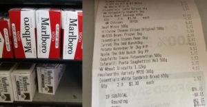 Egy ausztráliai nagymama kísérletbe kezdett: Mennyi élelmiszert vett egy doboz cigaretta árából?