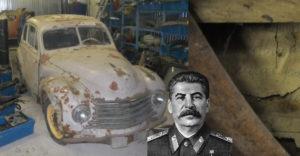 A 70 éve Sztálinnak ajándékozott autó sárvédőjében egy üzenet rejtőzött