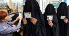 Hogyan ellenőrzik azon muszlim nők útlevelét, akik burkát vagy nikábot viselnek?