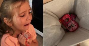 A kislány a szemétkosárba dobta a vadiúj tolltartóját. Az anyukája úgy megleckéztette, hogy soha el nem felejti