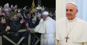 Ferenc pápának elfogyott a türelme. Egy túl lelkes hívő minden határt átlépett.