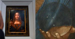 A tudósoknak sikerült megoldani annak az üveggolyónak a rejtélyét, amelyet Jézus tart a világ legdrágább festményén