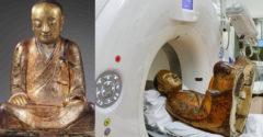 A tudósok beszkenneltek egy 1000 éves Buddha szobrot és megoldották a titkát