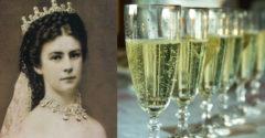 Sissi császárnő mindig egy fém kanalat rakott a pezsgősüvegébe. Nagyon jó oka volt rá.