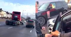 Ellie Goulding szemtanúja volt egy fura balesetnek (Állítólag a kamionsofőr nem vette észre a kocsit)