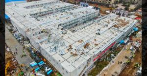 Nézd meg belülről a 10 nap alatt felépített kínai kórházat