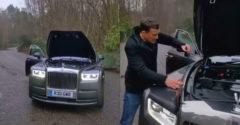 Hogy milyen simán jár a Rolls Royce Phantom motorja? (Elég hozzá egy érme)