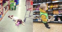 Hogyan lehet elkerülni a gyerekek hisztijét az üzletben? Egy anyuka nagyszerű trükköt eszelt ki