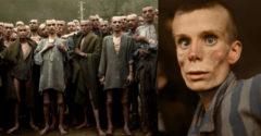Színessé tette a holokauszt alatt készített fotókat. A rémisztő hatásuk még rémisztőbbé vált