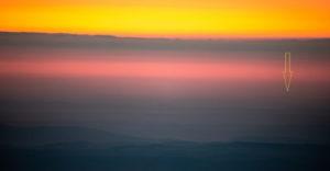 Szlovák rekord – a Király-hegyről (Kráľova hoľa) lefotóztak egy 300 km-re található objektumot Romániában.