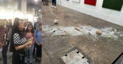 20 000 dollár értékű szobrot semmisített meg egy nő egy kiállításon. Az, hogy ez hogyan sikerült neki, eléggé bizarr