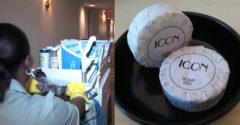 Mi történik a használt szappanokkal, miután elhagyjuk a hotelt?