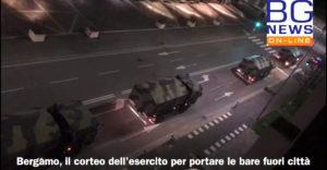 Megrázó videó: Megteltek a krematóriumok, katonai teherautó-konvoj szállította el a halottakat Bergamóból