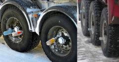 Miért raknak a kamionosok a járműveik kerekeire PET palackokat?