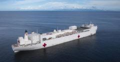 A világ legnagyobb kórházhajóját is bevetik a koronavírus elleni harcban