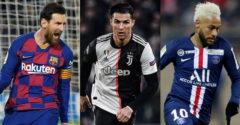 Továbbra is Messi a világ legjobban kereső focistája