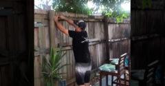 Itt a sörözés ideje a szomszédokkal (Tökéletes kerítés)