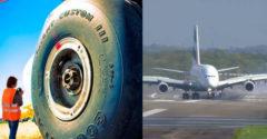 Miért nem durran ki leszállás közben a repülőgép futóművének gumija?