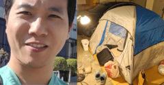 A koronavírussal harcoló orvos ideiglenesen vállalta a hajléktalanságot a családja érdekében.