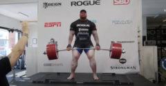 501 kilós emeléssel döntött világcsúcsot a Trónok Harca óriása