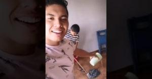 Szabotálta az öccse által végzett házimunkát. A bosszú nem váratott sokáig magára