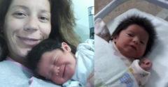 A születése után készült fotója bejárta a világot. Hogyan néz ki most a nagyhajú kislány?