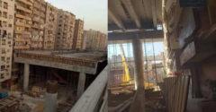 Lakásoktól 50 centiméterre építenek autópályát Egyiptomban