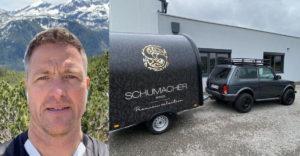 Schumacher öccse vett egy új autót. De mire neki egy Lada Niva?