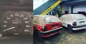 Az elhagyatott autókereskedés évtizedekig rejtegette a sok újautót