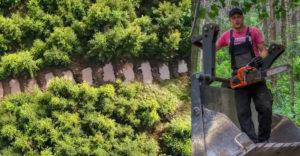 Egy erdész óriási ötlete a vízvisszatartás megoldása érdekében. Ez egy jó kis mentő ötlet a következő generációknak.