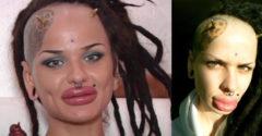 Az emberek évekig szörnyként tartották számon. Mára ismét szép nő vált belőle.