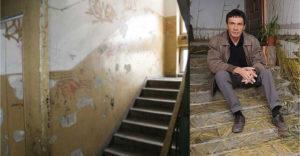 A művésznek évek után elege lett a lerobbant lépcsőházból, aztán saját kezébe vette a dolgokat