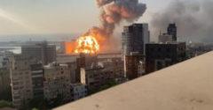 Közzétették a bejrúti robbanásról készült eddig még nem látott lassított felvételt