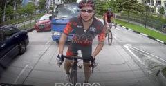 Amikor egy bosszúszomjas biciklis egy még bosszúszomjasabb sofőrre akad (Instant karma)