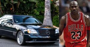 Vajon mennyiért árverezték el Michael Jordan Mercedesét? 23 dollár volt a kikiáltási ára