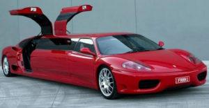 Beteg és egyben király: A limuzinná torzított Ferrari esete
