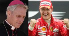 Az érsek az utolsó találkozása után Schumacherrel utalást tett az F1-es legenda állapotára.