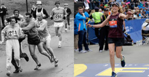 Az első maratonfutó nő, akit erővel akartak megállítani
