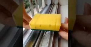 Egyszerű trükk, amellyel egy pillanat alatt alaposan meg lehet tisztítani az ablakkeretet