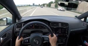 Ilyen, mikor 240-nél bevág eléd valaki a német autópályán!