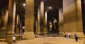 Tokió alatt egy óriási föld alatti világ rejtőzik, amely az árvizektől védi a várost