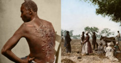 Színessé alakított fekete-fehér fotók, amik bizonyítják, hogy a rabszolgaság Amerikában valóban kegyetlen korszak volt