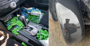Az autószerelők megmutatták, hogy milyen érdekes dolgokat találtak az autókban