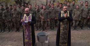 Utolsó áldás a frontra indulás előtt (Örményország)