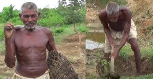 Eleinte még a saját családja is kinevette. Majdnem 30 évig ásta a kanálist, hogy a falujába vezesse a vizet
