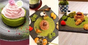 Ehető zen kertecskéket készít egy japán teaház