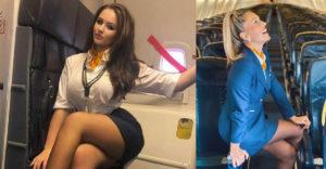 Stewardessek, akik szépsége még a leghosszabb repülőutakat is kellemessé teszi