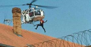 3 hónap alatt megtanult helikoptert vezetni, majd megszöktette férjét a börtönből